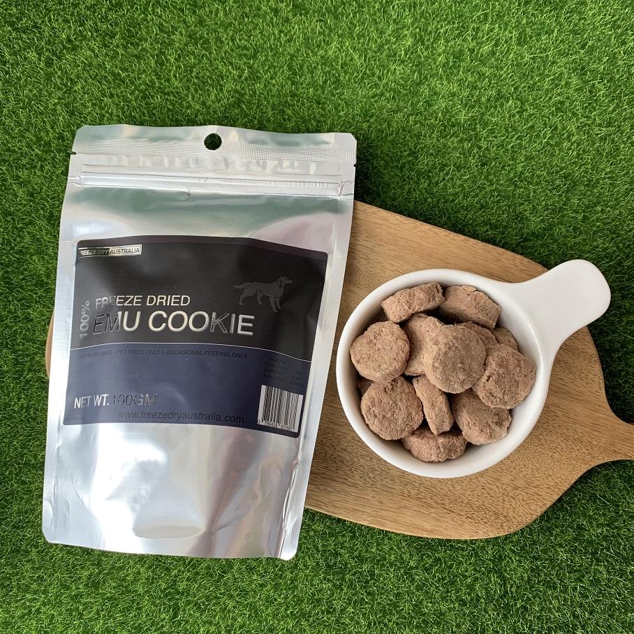 Freeze Dry Australia 犬貓通用零食冷凍乾燥系列 鴯鶓肉餅 100g-犬貓零食